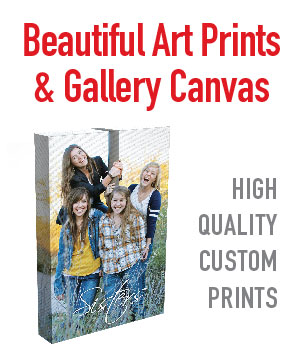 Your photos and artwork printed on custom gallery canvas. We can ad design elements for a truly custom look. Art Printer in Mesa AZ serving the entire valley.