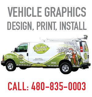 Tower Media Group, East Valley printing company over 25 years in Mesa, Gilbert and Chandler. Vehicle graphics, signs and wraps.